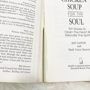 Chicken Soup Accents - 3/$15 Chicken Soup For The Soul Paperback Book